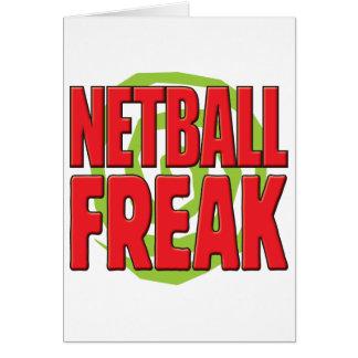 Netball ungewöhnliches R Karte
