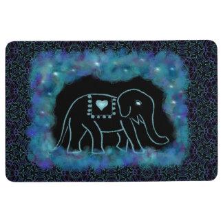 Nette Elefant-Boden-Matte Bodenmatte