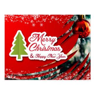 Nette Weihnachtspostkarte Postkarte