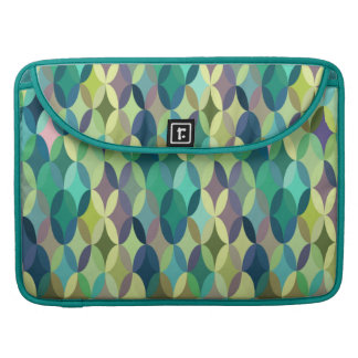 Nettes buntes Vintages retro abstraktes MacBook Pro Sleeve