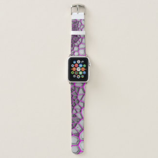 Netz-Apple-Uhrenarmband Digital rosa Apple Watch Armband