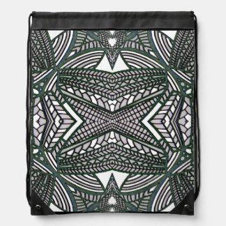 Netz-Rucksack 4 Jedermann-Muster auf Turnbeutel