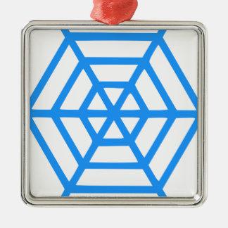 Netz Silbernes Ornament