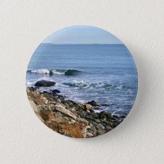 Neu-England Brandung Runder Button 5,7 Cm