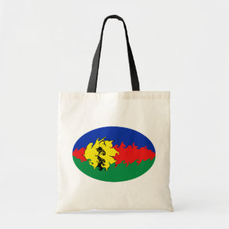 Neu-Kaledonien Gnarly Flaggen-Tasche