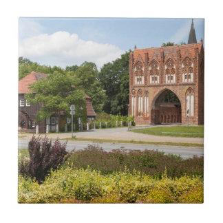 Neubrandenburg-Ansicht Fliese