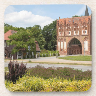 Neubrandenburg-Ansicht Getränkeuntersetzer