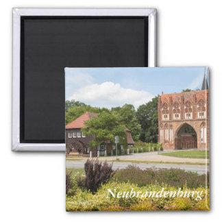 Neubrandenburg-Ansicht Quadratischer Magnet