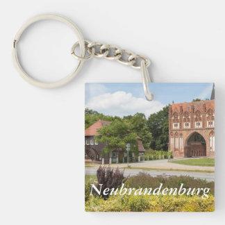 Neubrandenburg-Ansicht Schlüsselanhänger
