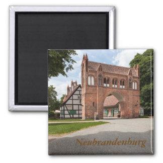 Neubrandenburg Quadratischer Magnet