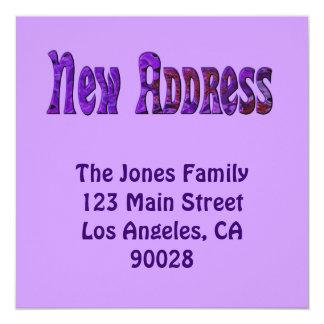 Neue Adresse Karte
