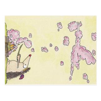 NEUE BABY-Postkarte durch Nicole Janes Postkarte