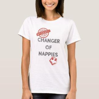 Neue Babymama oder Vatit-shirt - Windelwechsler T-Shirt