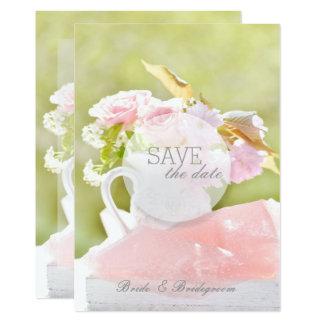 Neue Frühlings-Blumen-Blumenstrauß-Hochzeit 12,7 X 17,8 Cm Einladungskarte