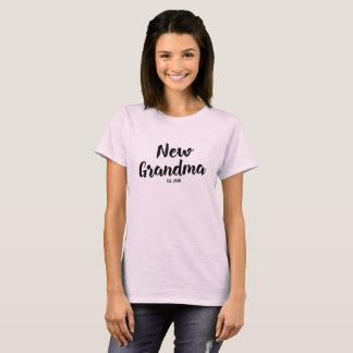 Neue Großmutter Est. 2018, zukünftiges T-Shirt