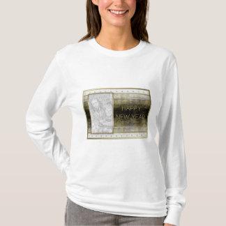 Neue Jahre - goldene Eleganz - ADDIEREN Ihr Foto T-Shirt