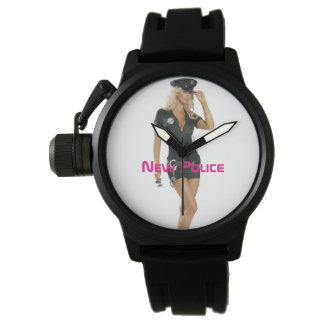 Neue Polizei Uhr