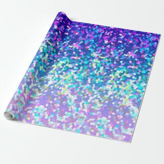 Neue Verpackungs-Papier-Glitter-Grafik Geschenkpapier