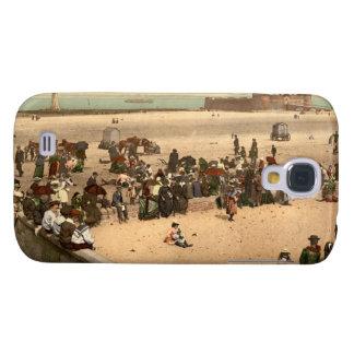 Neuer Brighton-Strand, Liverpool, Merseyside, Galaxy S4 Hülle