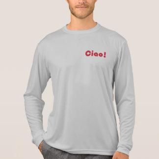 Neuer Ciao-Männer Spitzen T-Shirt