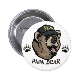 Neuer der Vatertags-Gang Papa-Bärn- Runder Button 5,7 Cm