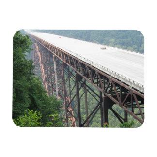 Neuer Fluss-Schlucht-Brücke, West Virginia, Magnet