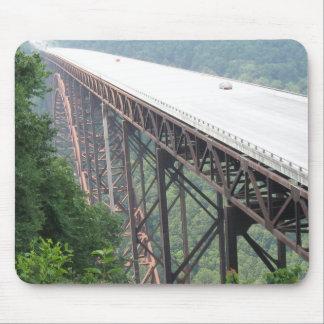 Neuer Fluss-Schlucht-Brücke, West Virginia, Mousepad
