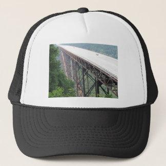Neuer Fluss-Schlucht-Brücke, West Virginia, Truckerkappe