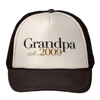 Neuer Großvater Est 2009 Baseballcaps