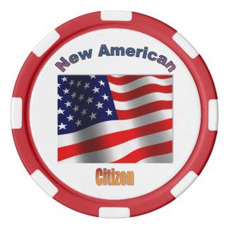 Neuer US-Bürger Poker Chips