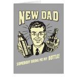 Neuer Vati: Jemand holen mir meine Flasche Karten