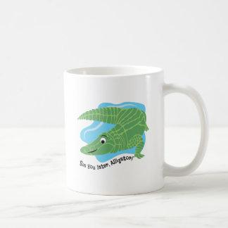 Neuerer Alligator Kaffeetasse