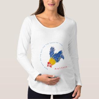 Neues Baby auf der Mutterschaft S des Weise Umstands-T-Shirt