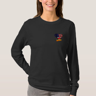Neues Bürger US-Flaggen-Herz T-Shirt