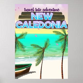 "Neues Caledon ""Reise in Abenteuer"" Reiseplakat Poster"