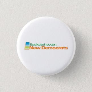 Neues Demokraten Logo Saskatchewans Runder Button 2,5 Cm