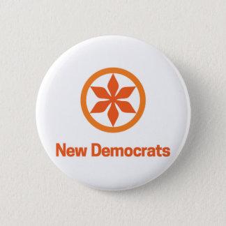 Neues Demokraten NDP Logo Saskatchewans Runder Button 5,7 Cm