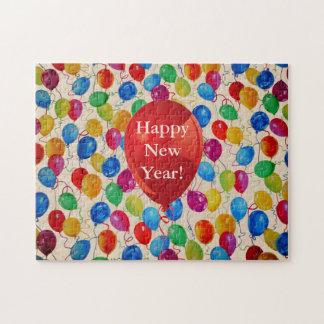Neues Jahr-Ballone