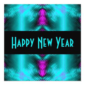 neues Jahr des Türkises Karte