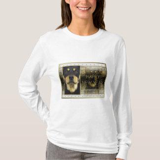 Neues Jahr - goldene Eleganz - australischer T-Shirt