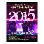 Neues Jahr-Party-Ereignis-Mitteilung DJ SCHLAGEN Flyer Druck