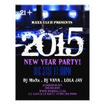 Neues Jahr-Party-Ereignis-Mitteilung DJ SCHLAGEN Flyerdruck