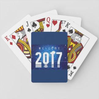 Neues Jahr spezielle Spielkarten