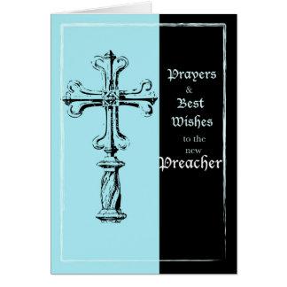 Neues Prediger-Klassifikations-Glückwunsch-Kreuz Karte