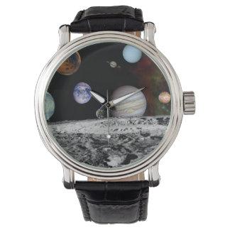 Neues Sonnensystem Armbanduhr