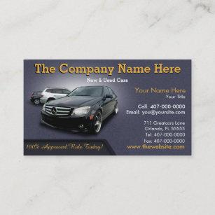 Neues U Benutztes Auto Verkäufe Visitenkarte