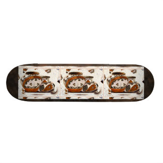 Neues Ureinwohner-Tonwaren-Skateboard 20,6 Cm Skateboard Deck