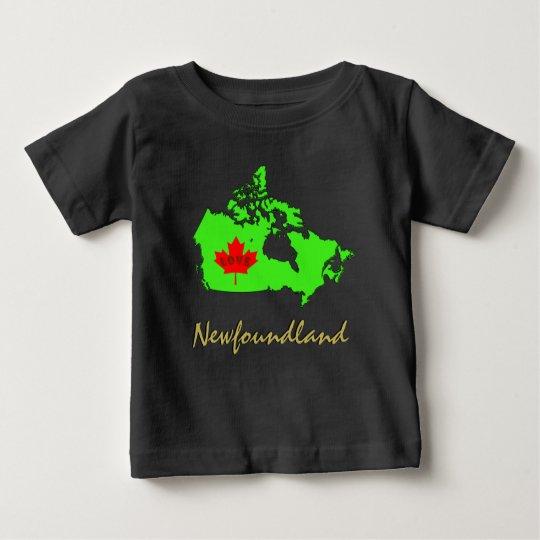 Neufundland fertigen Liebe-Kanada-Provinz Baby T-shirt