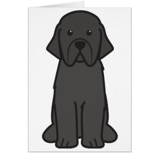 Neufundland-HundeCartoon Karte