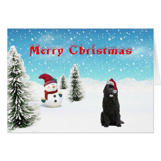Neufundland-Weihnachtskarte Grußkarte
